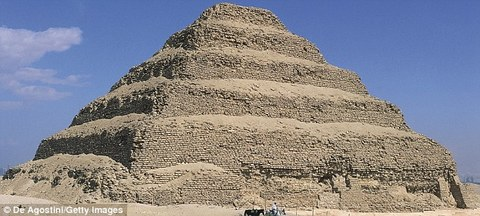 Pyramid of Djoser Many more are thought to be buried underground.jpg